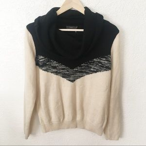 THML Anthropologie Crowl Neck Pullover Sweater